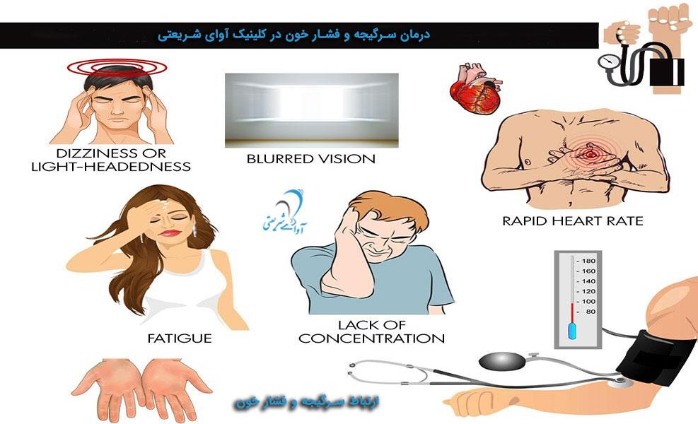 آوای شریعتی-ارتباط سرگیجه و فشار خون-درمان -2